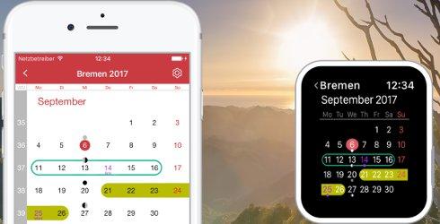 Ferienkalender App Update