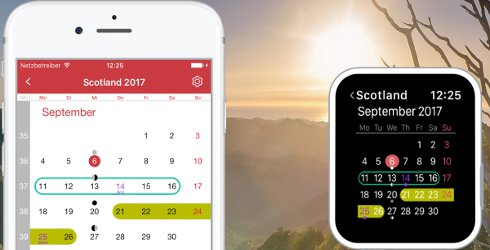 Holiday Calendar App Update