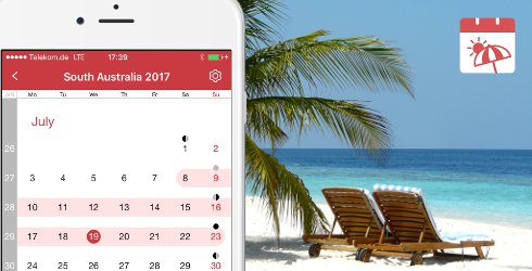Holiday and Vacation Calendar